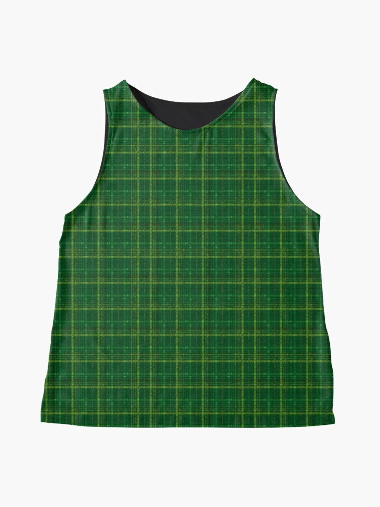 Alternate view of irish style tartan Sleeveless Top