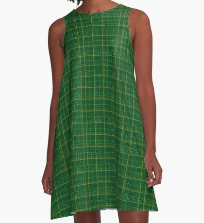 irish style tartan A-Line Dress