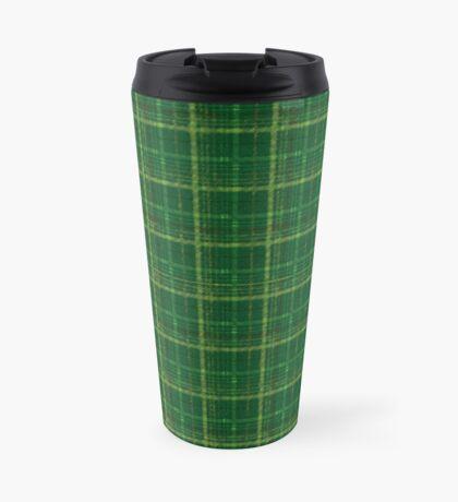 irish style tartan Travel Mug