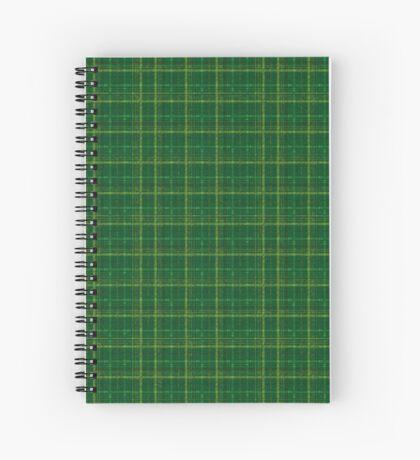 irish style tartan Spiral Notebook