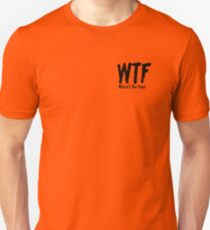 WHERES THE FOOD Unisex T-Shirt