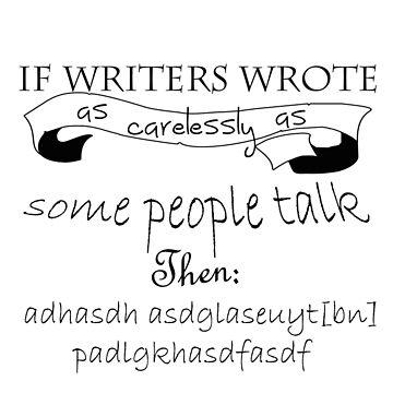 Lemony Snicket 'If writers wrote...' by Colferninja