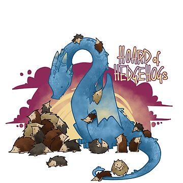 Hoard of hedgehogs by ArryDesign
