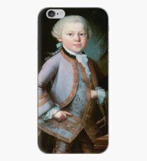 Wolfgang Amadeus Mozart (1756 -1791) by y Pietro Antonio Lorenzoni in 1763 iPhone Case