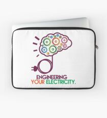 Engineering Your Electricity by TeeSnaps Laptop Sleeve