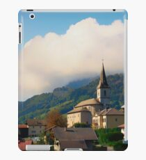Church, Rhone Alpes - France iPad Case/Skin