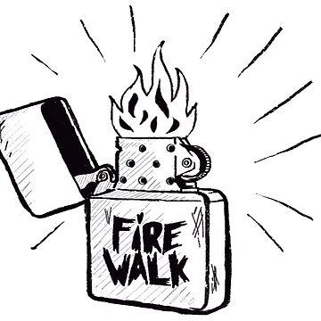 Life is Strange Chloe Fire Walk by Conradz