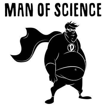MAN OF SCIENCE BAND TEE by Rob0894