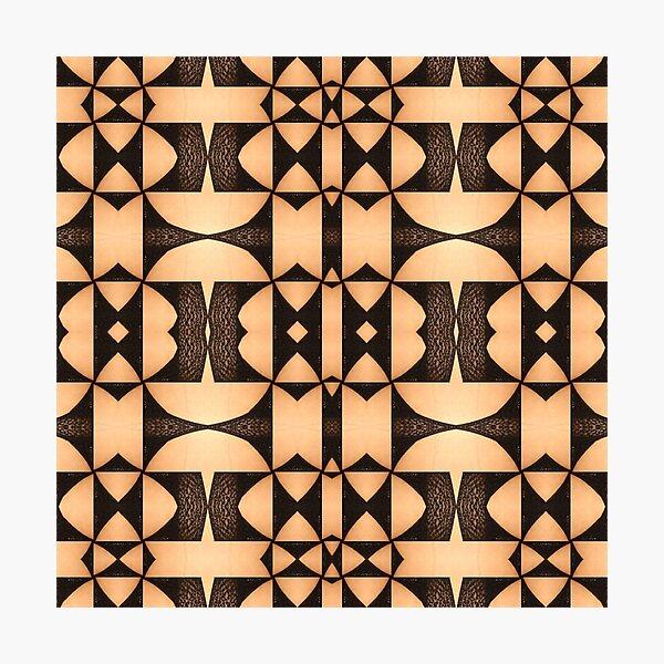 design, decoration, motif, marking, ornament, ornamentation, pattern, drawing, figure, picture Photographic Print