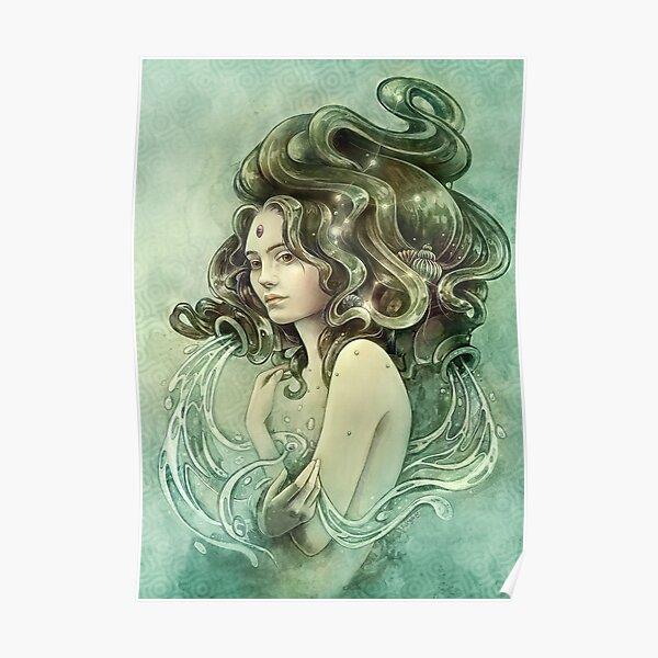 Zodiac Aquarius Poster