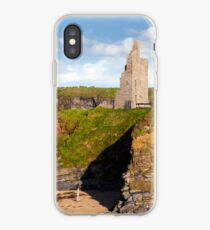 view of the  Ballybunion castle beach and cliffs iPhone-Hülle & Cover