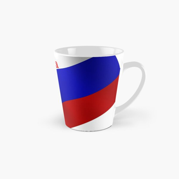 Flag, Official symbol variety, ornament, ornamentation, pattern, drawing, figure, picture, illustration, pattern recognition Tall Mug