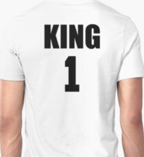 KING (Black) The His of The His and Hers couple shirts T-Shirt