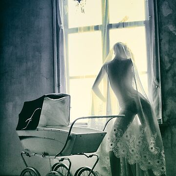 Mannequin with stroller by AndreaZaaijer
