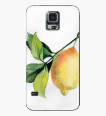 Branch of  lemons with leaves Case/Skin for Samsung Galaxy