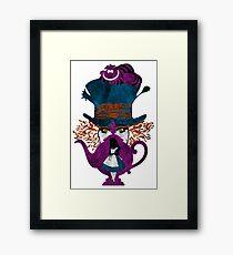 Wonderland (white) Framed Print