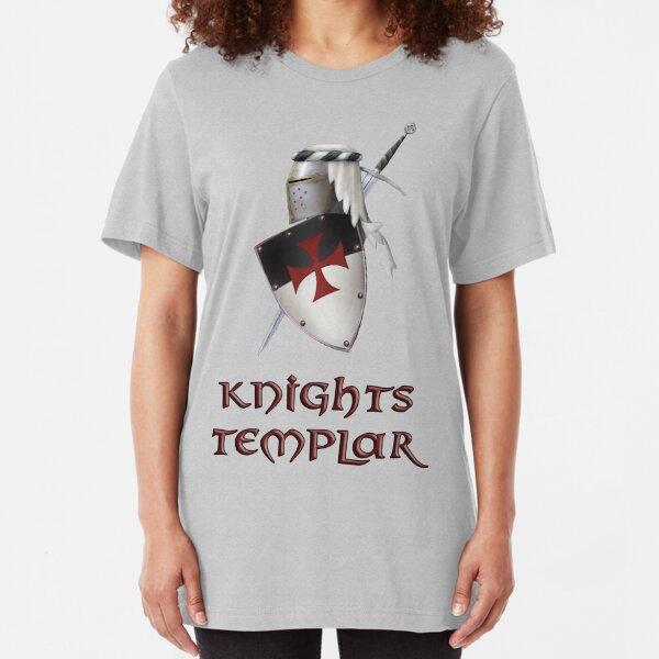 Knights Templar Slim Fit T-Shirt