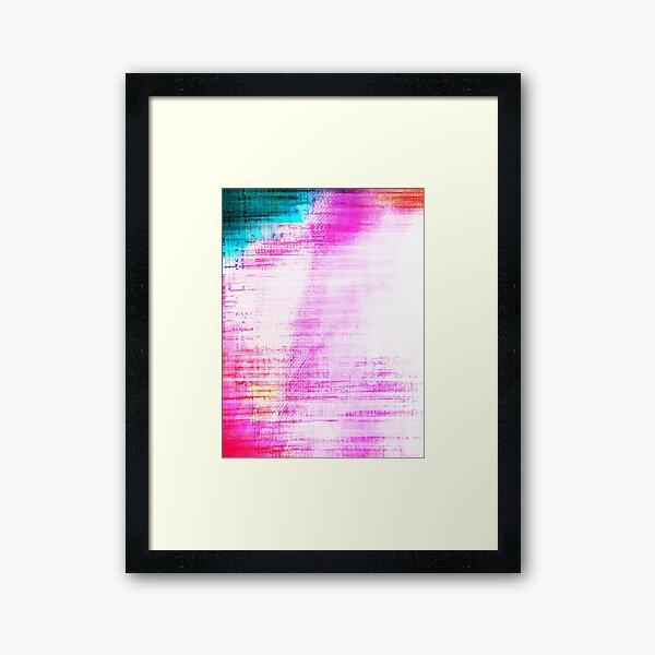 Look beyond the surface  Framed Art Print