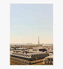 Eiffel Tower on a Summer's Day Photographic Print