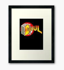 Zuul in the Refrigerator Framed Print