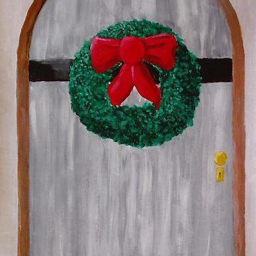Christmas Door by RDHals