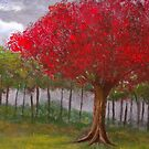 The Red Tree by Russell Halsema