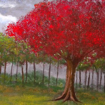The Red Tree by RDHals