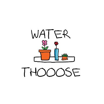 WATER THOOOSE by question