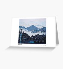 Mountain weave Greeting Card