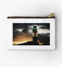 Lighthouse at night Studio Pouch