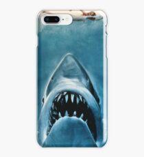 Jaws movie poster iPhone 8 Plus Case