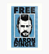 Free Aaron Dingle Art Print