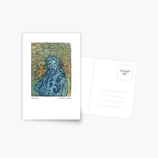 Mountain Woman Postcard