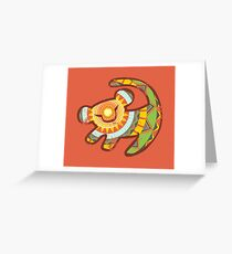 Simba One Greeting Card
