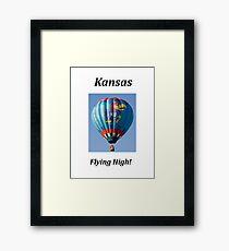 KANSAS - Flying High! Framed Print