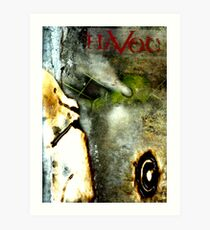 GRAPHIC NOVEL COVER: HAVOC Art Print