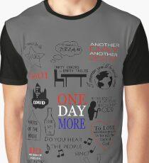 Les Miserables Quotes Graphic T-Shirt
