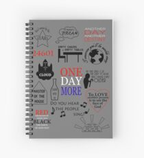Les Miserables Quotes Spiral Notebook