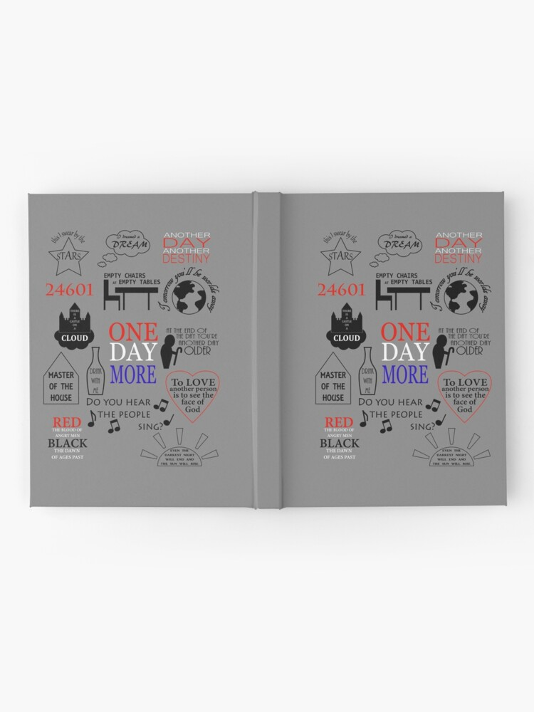 Alternate view of Les Miserables Quotes Hardcover Journal