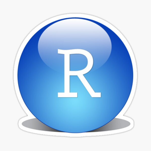 Rstudio logo Sticker