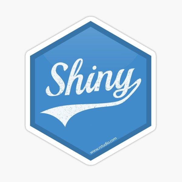 R Shiny logo Sticker