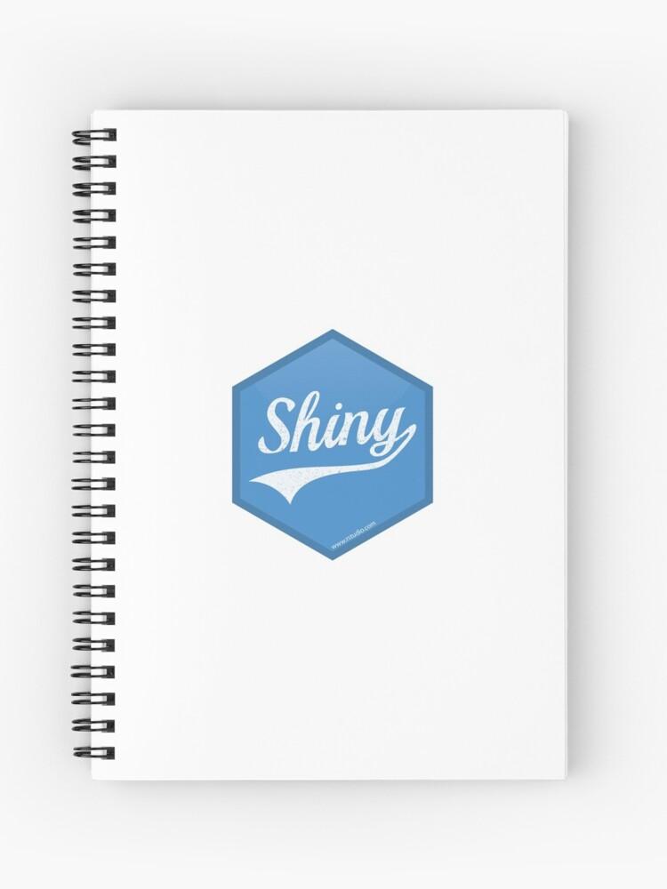 R Shiny logo   Spiral Notebook