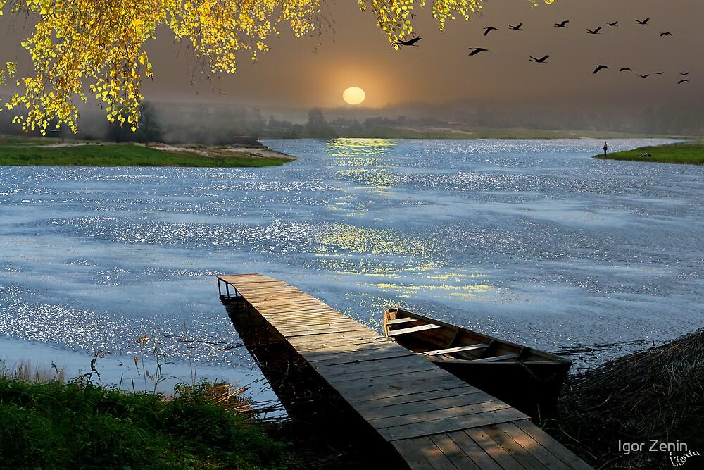 Quiet Wharf by Igor Zenin