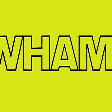 Wham! black lined  by inge-enter