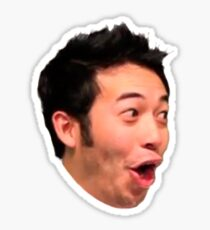 PogChamp Twitch Emote Sticker