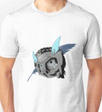 Ana snow owl skin Slim Fit T-Shirt
