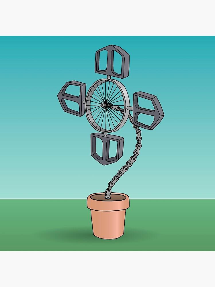 Bike Flower by bekome