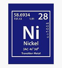 Nickel Element Photographic Print