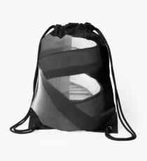 Fire escape. Drawstring Bag