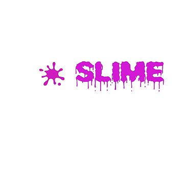 Eat Sleep Slime Repeat Cute Slime Shirt for Kids by No-Leg-Bones